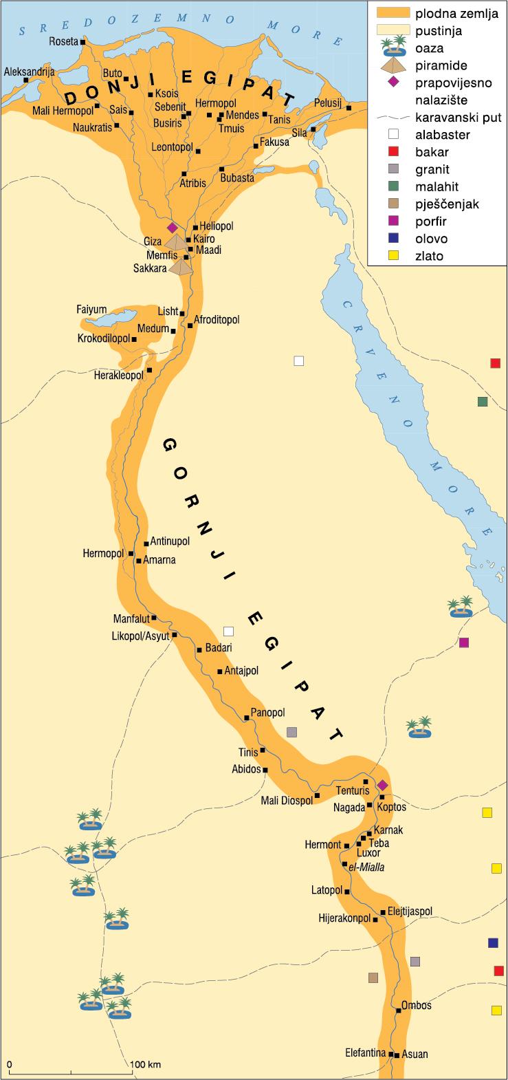 Drustvene Strukture U Starom Vijeku Egipat A2 Tragovi 1