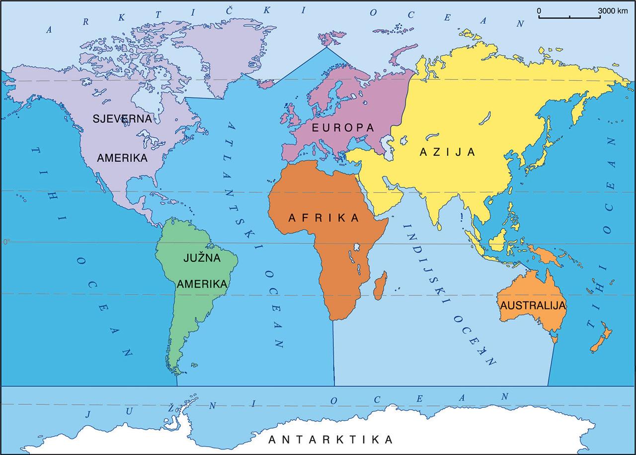 Geografska Karta Gea 1