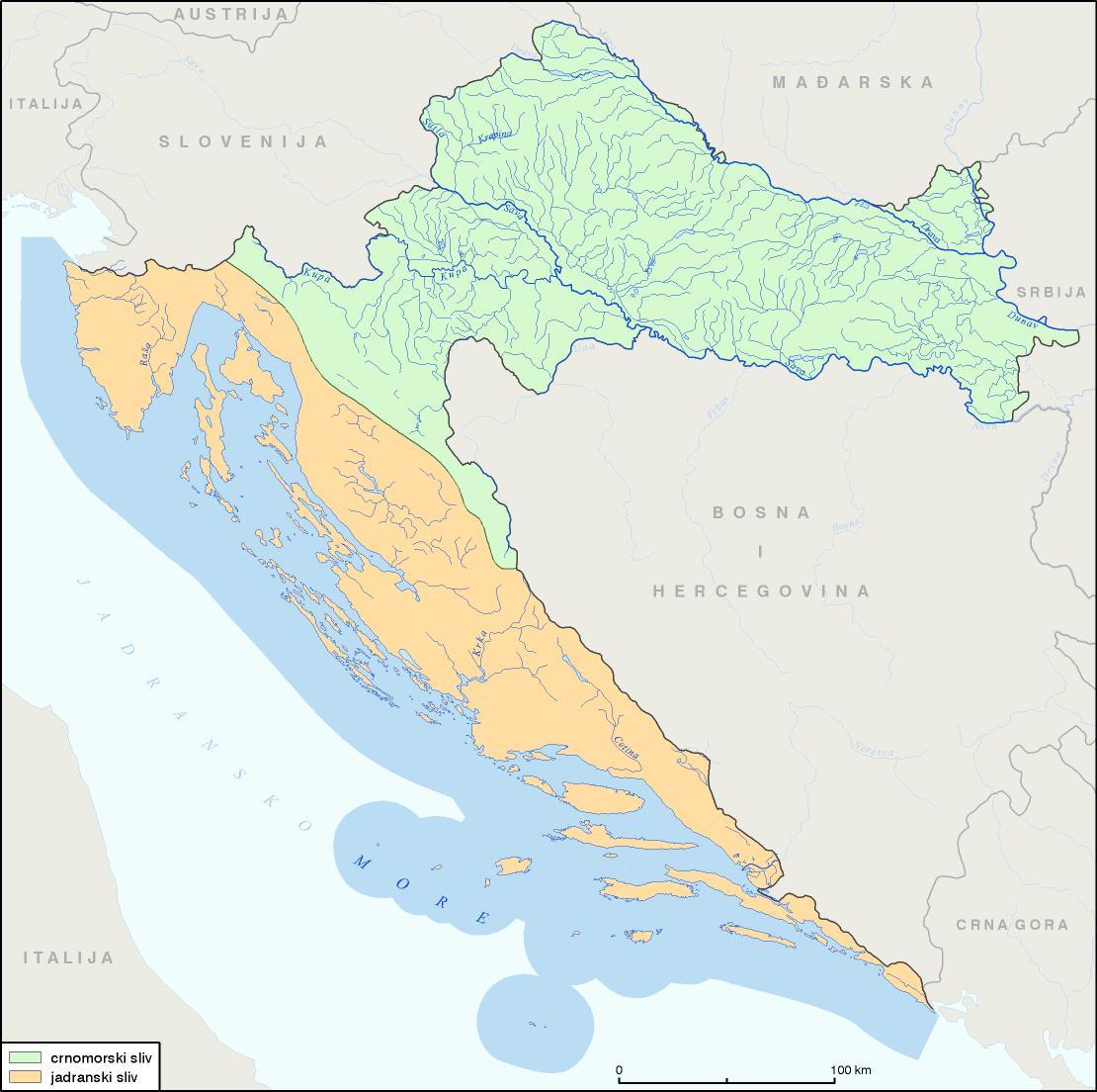 Rijeke I Jezera Hrvatske Gea 1